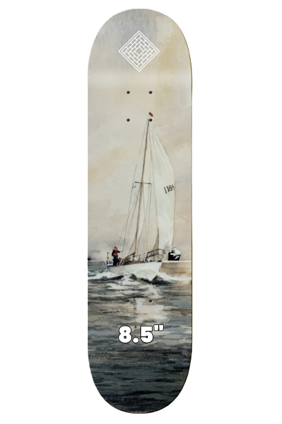 """THE NATIONAL SKATEBOARDS 'RESAIL' 8.375"""" (the GRAND HOWL STORE)"""