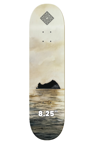 """THE NATIONAL SKATEBOARDS 'ROCK' 8.25"""" (the GRAND HOWL STORE)"""