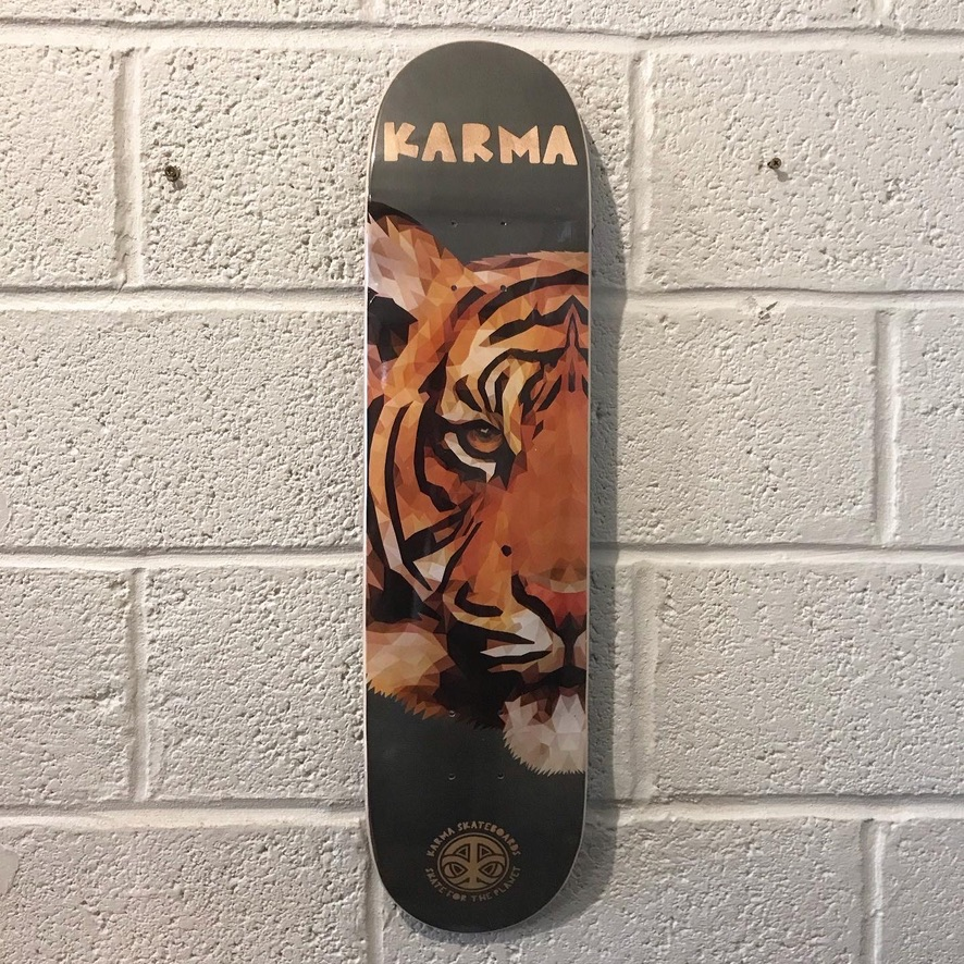 """KARMA 'TIGER' 7.75"""" (the GRAND HOWL STORE)"""