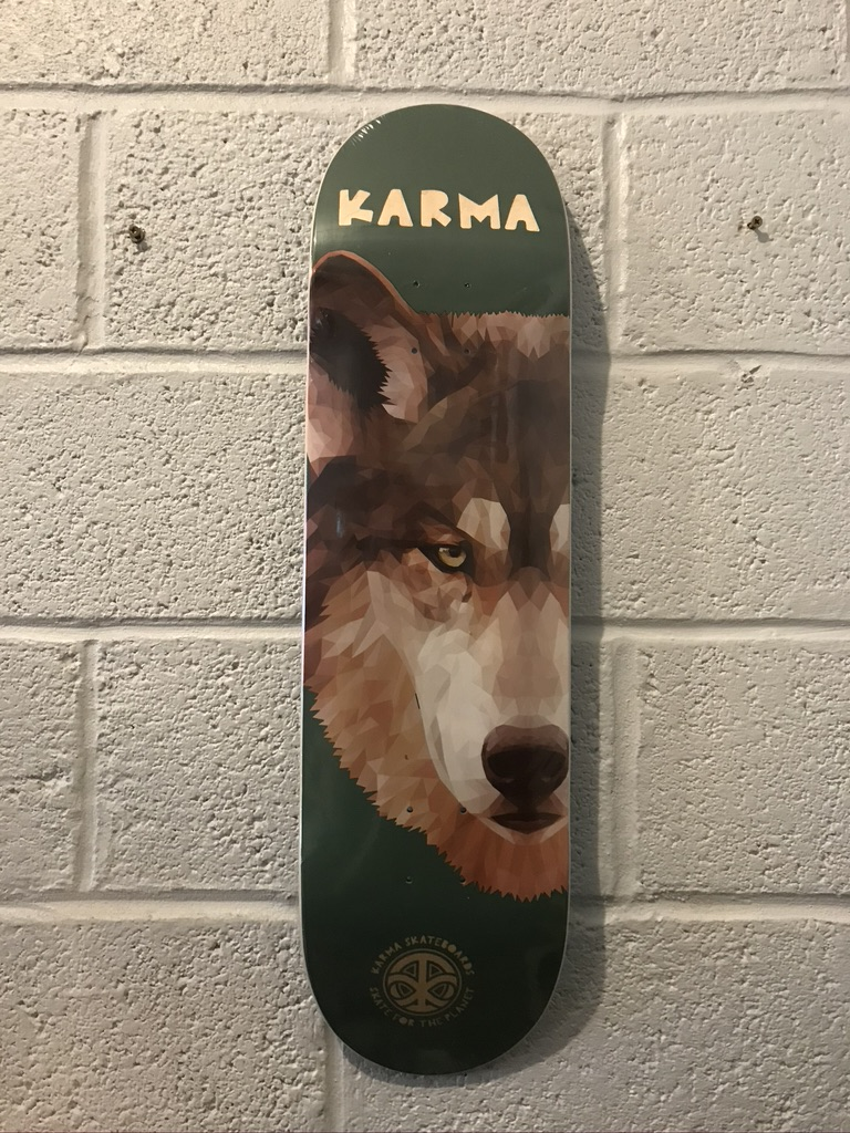 """KARMA 'WOLF' 8.5"""" (the GRAND HOWL STORE)"""